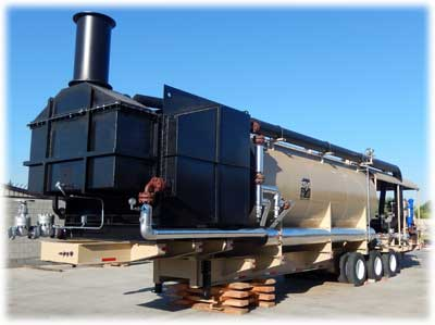 Portable Steam Generator fully-assembled at Esys