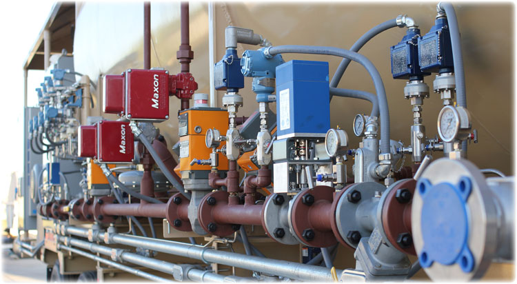 Portable steam generator instrumentation and valves