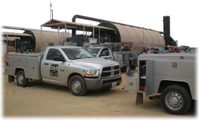 Esys Field Service Trucks