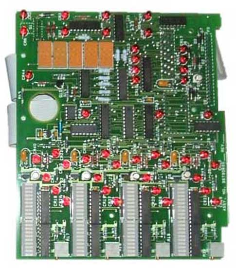 Front Panel Circuit Board Photo