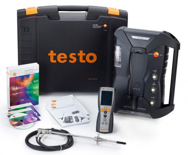 Testo 350 Burner and Boiler Kit